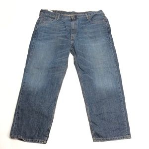 Mens 44×29 Levis Jeans 550 Straight Leg Medium Was